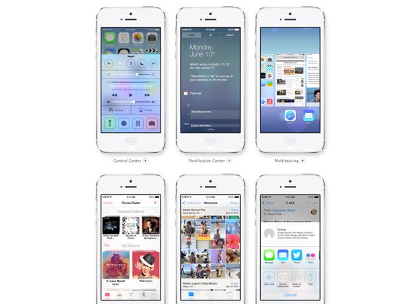WWDC2013で発表された「iOS7」が早くも体験出来る!iOS7公式ページで試すのはiPhoneがオススメ!