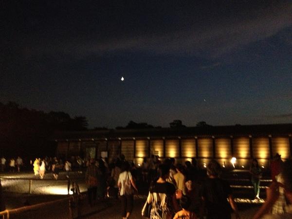 あの二条城もイルミネーションに染まる!京都の熱帯夜を彩る七夕まつり「京の七夕」に行って来たよ!