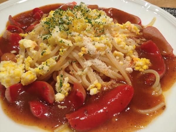 湾岸長島パーキングエリア名物「長島スパゲティ」を食べてきたよ