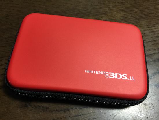 子供向けに必須!ゲーム収納と本体保護を兼ねるケース「スリムハードポーチ for ニンテンドー3DS LL」を買いました