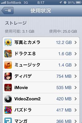 iPhone 4sでドラクエ8