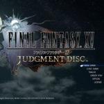 FF15体験版ジャッジメントディスク