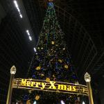 子供も大はしゃぎする京都駅のクリスマスツリーと大階段イルミネーションに行って来た!