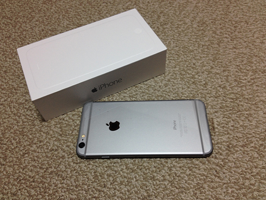 iPhone 6 Plus開封