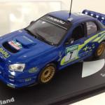 ラリー好きにはたまらない!デアゴスティーニの「ラリーカーコレクション」でインプレッサWRC2003をゲットしたよ!