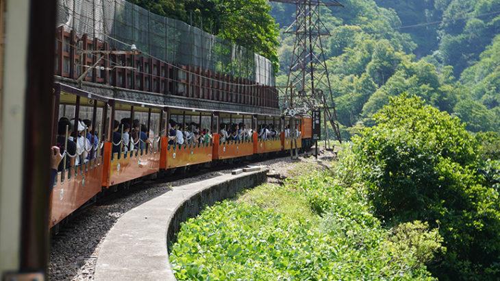【富山旅行記5】子供と行く黒部峡谷の旅!盛夏の黒部峡谷トロッコ列車に乗って来たよ!