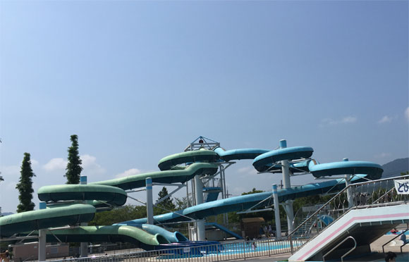 【ver.2015】子育て支援パスポートで幼児が無料!亀岡運動公園プールに行って来た!
