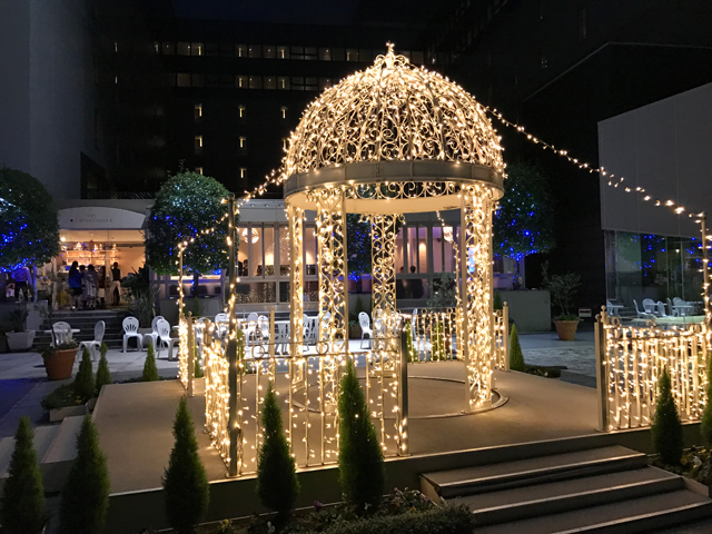 京都駅ビル クリスマスイルミネーション2016