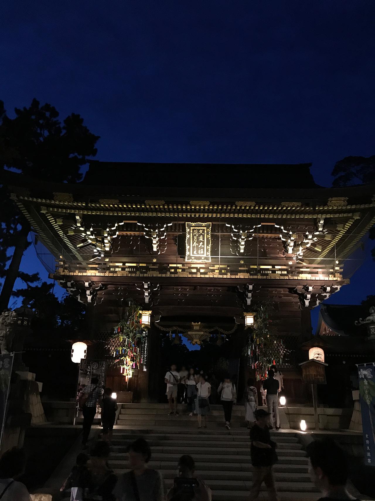 京の七夕 北野天満宮会場