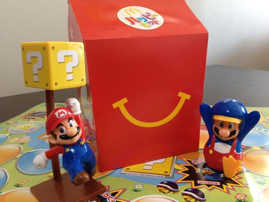 ハッピーセットでスーパーマリオは週末限定の「ぼうけんスゴロク」が子供に大好評!