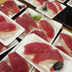 解体ショーでマグロのにぎりを楽しむ!京都壬生のスーパー銭湯「壬生温泉 はなの湯」に行って来たよ!