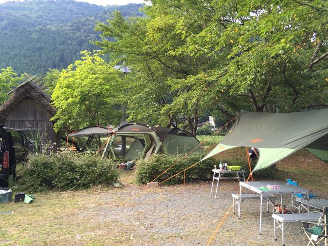 美山町自然文化村キャンプ場