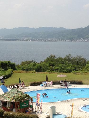 宮津ロイヤルホテルからの景色
