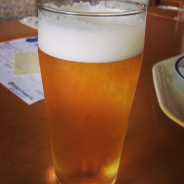 宮津ロイヤルホテルの生ビール