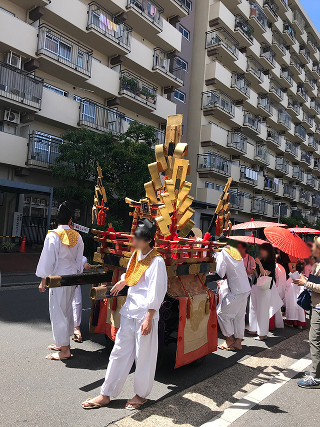 元祇園梛神社の神幸祭