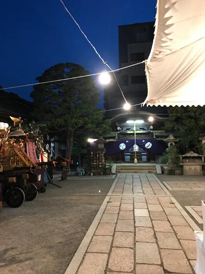 元祇園 梛神社 お祭り
