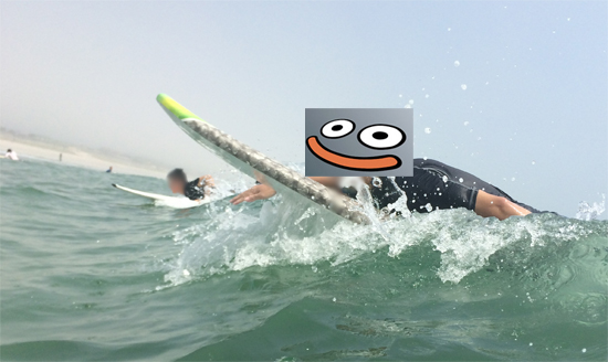 サーフィンデビュー