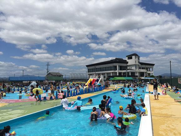 大人も子供も本格的に泳げる!50mプールから幼児用プールまである久御山町民プールに行って来た!