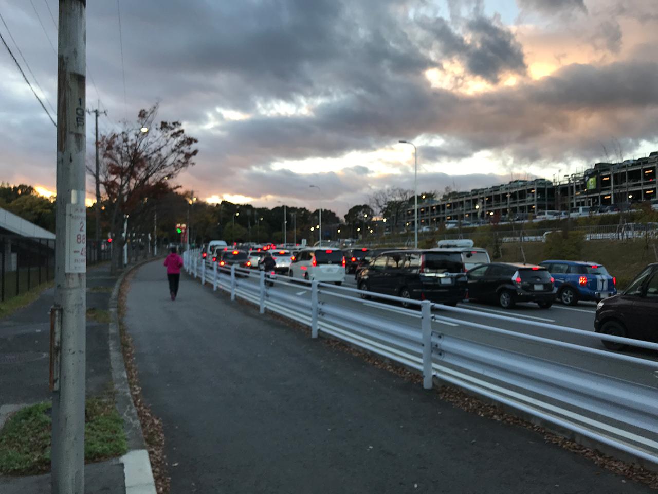 吹田スタジアム周辺の駐車場