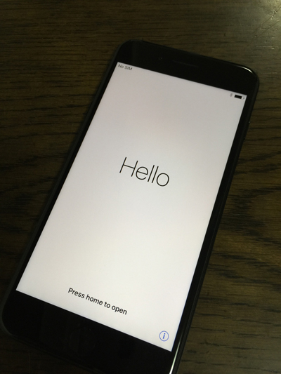 iPhone 7 機種変更