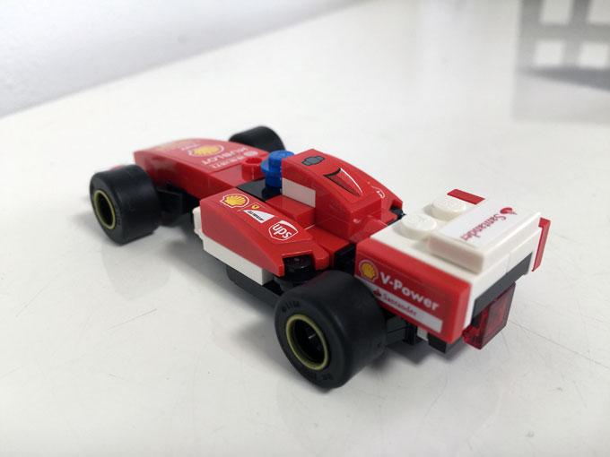 レゴ&フェラーリ好きなら欲しくなる!シェル石油のオリジナルレゴを買いました!