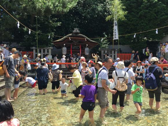 世界遺産で水遊び出来る!? 下鴨神社の御手洗祭(みたらしまつり)に行ってきた!