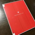 ゴールドにはレッドでしょ!iPad Air 2用にApple 純正スマートカバーを買いました!