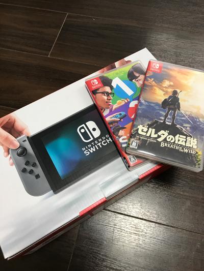 衝動買いから1ヶ月・・・ Nintendo Switch(ニンテンドースイッチ)のある生活について語ってみる