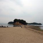 【小豆島旅行記 4】潮の満ち引きで道が現れるエンジェルロードと小豆島道の駅めぐりに行ってきた
