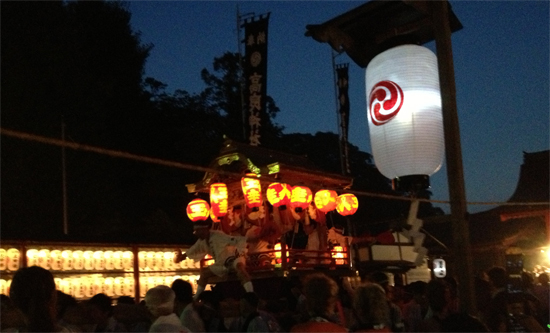 太鼓御輿が大迫力!石清水八幡宮は高良神社の太鼓祭りに行って来た!