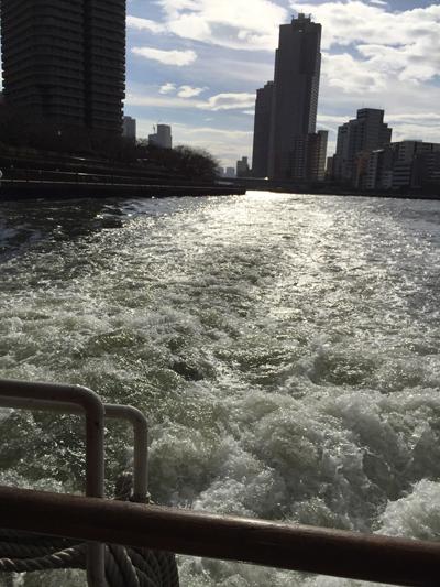 【関西から行く東京】移動をアトラクションに!水上バス(TOKYO CRUISE)の隅田川ラインに乗りました!