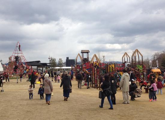 子供たちも大満足!梅小路公園に大型遊具の「すざくゆめ広場」がオープンしたので行ってきた!