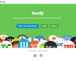 やっと移行しました。7月1日に終了するGoole Readerの代わりにfeedlyを導入しましたよ。