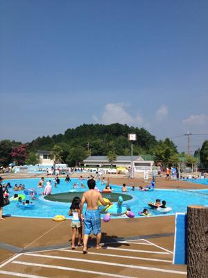 こじんまりとした良プール!こそだて応援パスポートも適応の丹波自然運動公園プールに行って来たよ!