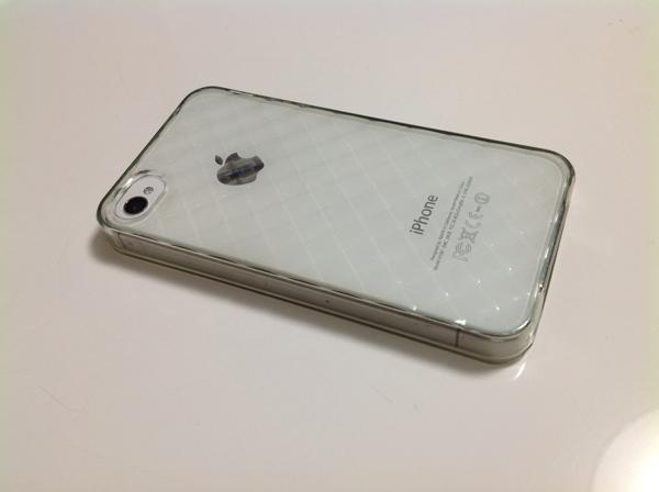 It's so cool ! iPhoneをカバーなしで持つことに憧れる!!