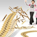 カッコ良いと大評判のスバルのラジコン VS アイス棒の動画に出てくる新感覚ドミノ「スティックボム」が面白そう!