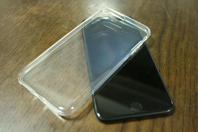 Simpeak® iPhone 7 Plus 用 TPUクリア透明ケース保護カバー