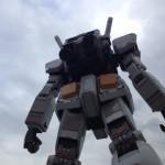 やるな!連邦の白いヤツ!実物大RX-78ガンダムの立像を見にダイバーシティに行って来たよ!