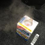 ヒーターを使いだしてから子供に車内がくさいと言われたのでエアコン消臭剤「カーメイト スチーム消臭エアコン用 D22」を使ってみたよ
