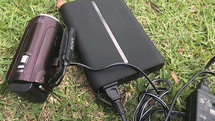 子供の晴れ舞台の長時間ビデオ撮影も気にしない! AC電源で充電出来るモバイルバッテリー「Anker PowerCore AC」を買いました!