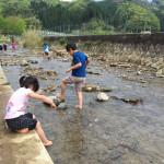 アスレチックにバーベキュー、川遊びでサワガニとりまで!自然の中で子供たちが遊べるアクトパル宇治に行って来た!