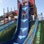最大傾斜角80度の滑り台!? フリーフォール滑り台がとにかく刺激的な滋賀県立びわ湖こどもの国が楽しい!