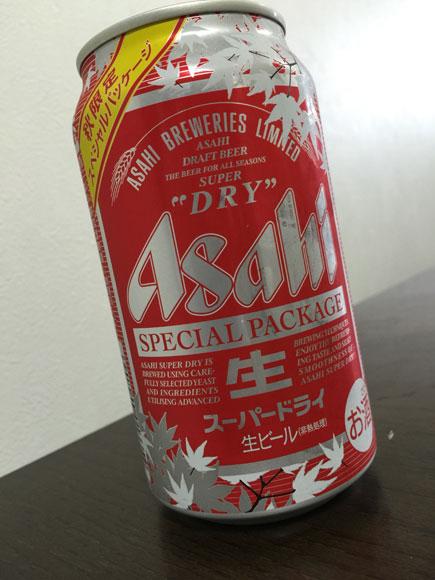 秋が来るのでアサヒスパードライの秋限定スペシャルパッケージを飲んでみた!