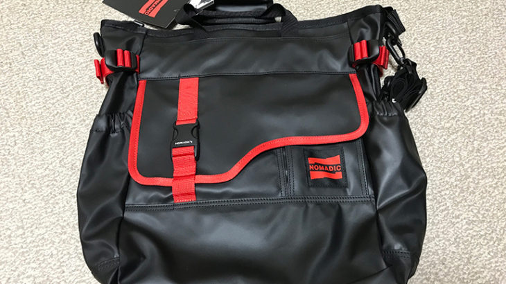 【ジュニアサッカー】どうしても荷物が増える試合観戦のためにノーマディック 3wayトートバッグを買いました!