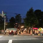 夜の神社と夜店を堪能!京都・壬生の元祇園 梛神社のお祭りに行って来たよ!