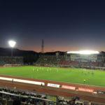 【サッカー観戦記】真夏の夜に初のナイトマッチ観戦!子供と一緒に J2 京都サンガ VS コンサドーレ札幌を楽しんで来たよ!