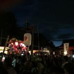 夕暮れと神社、そして提灯が幻想的な京都八幡の高良神社太鼓祭りに行って来た!