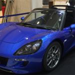 京都高島屋の1000万円福袋に入ってた京都発のEVスポーツカー「トミーカイラZZ」を見てきたよ